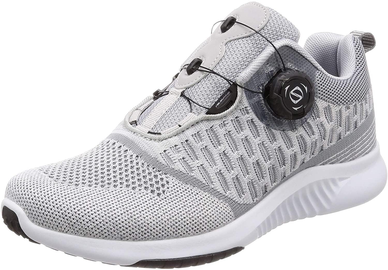 [フォーセンス] ランニング ウォーキング ダイヤルシューズ 脱ぎ履き イージー スポーツシューズ 運動靴